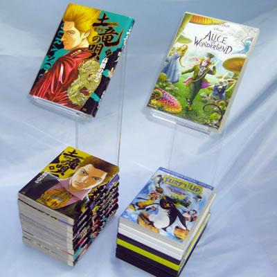 book&DVDスタンド